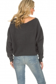 American Vintage |  Sweater Damsville | grey  | Picture 5