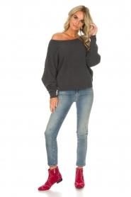 American Vintage |  Sweater Damsville | grey  | Picture 3