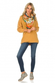 American Vintage |  Sweater Hanapark | yellow  | Picture 3