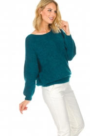 American Vintage |  Sweater Woxilen | blue  | Picture 4