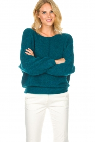American Vintage |  Sweater Woxilen | blue  | Picture 2