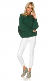 American Vintage |  Sweater Boulder | green  | Picture 3