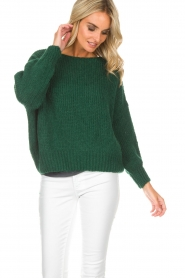 American Vintage |  Sweater Boulder | green  | Picture 4