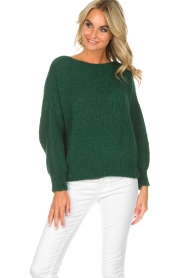 American Vintage |  Sweater Boulder | green  | Picture 2