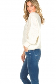 American Vintage |  Sweater Boolder | white  | Picture 4