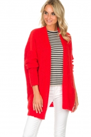 American Vintage |  Cardigan Boolder | red  | Picture 2