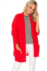 American Vintage |  Cardigan Boolder | red  | Picture 4