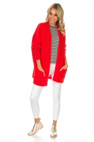 American Vintage |  Cardigan Boolder | red  | Picture 3