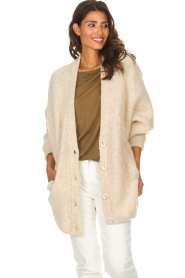 American Vintage |  Cardigan Zapitown | beige  | Picture 2