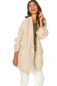 American Vintage |  Cardigan Zapitown | beige  | Picture 4
