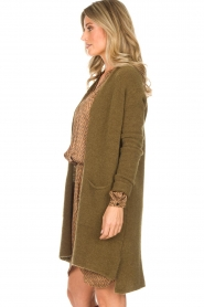 American Vintage |  Cardigan Vikiville | green  | Picture 4