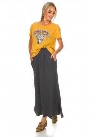 American Vintage |  Maxi skirt Toubobeach | grey  | Picture 2