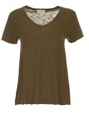 American Vintage | T-shirt Jacksonville | groen  | Afbeelding 1
