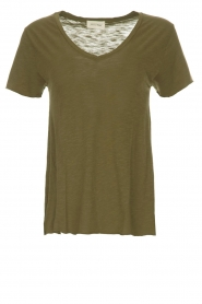 American Vintage |  T-shirt Jacksonville | green  | Picture 1