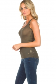 American Vintage |  Sleeveless top Massachusetts | green  | Picture 3