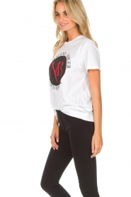 By Malene Birger |  T-shirt Aggitas | white  | Picture 5