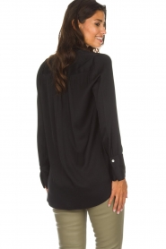By Malene Birger |  Silk top Ayoh | black  | Picture 5