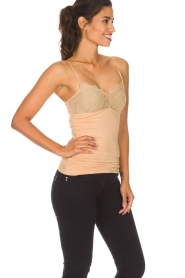 By Malene Birger |  Top with lace Wasikio | nude  | Picture 4