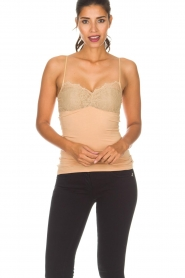 By Malene Birger |  Top with lace Wasikio | nude  | Picture 2