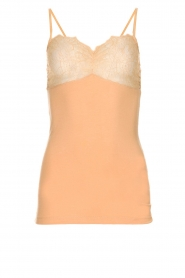 By Malene Birger |  Top with lace Wasikio | nude  | Picture 1