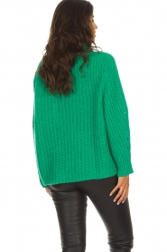 ba&sh |  Turtle neck sweater Emera | green  | Picture 5