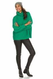 ba&sh |  Turtle neck sweater Emera | green  | Picture 3