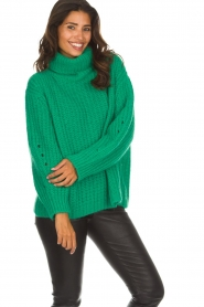 ba&sh |  Turtle neck sweater Emera | green  | Picture 2