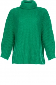 ba&sh |  Turtle neck sweater Emera | green  | Picture 1
