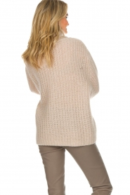 ba&sh |  Turtle neck sweater Emera | natural  | Picture 5