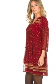 ba&sh |  Tunic dress Bailey | red  | Picture 6