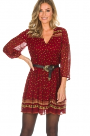 ba&sh |  Tunic dress Bailey | red  | Picture 5