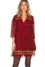 ba&sh |  Tunic dress Bailey | red  | Picture 2