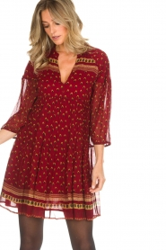 ba&sh |  Tunic dress Bailey | red  | Picture 4