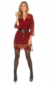 ba&sh |  Tunic dress Bailey | red  | Picture 3