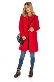 Arma |  Coat Victoria | red  | Picture 3