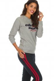 Zoe Karssen | Sweatshirt Paris Le Marais | grijs  | Afbeelding 4