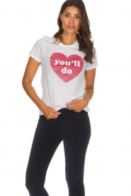 Zoe Karssen | T-shirt You'll Do | wit  | Afbeelding 2