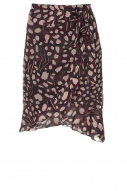 IRO |  Wrap skirt Lingo | black  | Picture 1