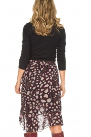 IRO |  Wrap skirt Lingo | black  | Picture 6