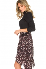 IRO |  Wrap skirt Lingo | black  | Picture 5