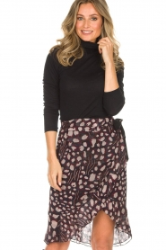 IRO |  Wrap skirt Lingo | black  | Picture 2