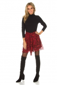 IRO | Skirt with volant Nothing | red  | Picture 3