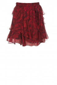 IRO | Skirt with volant Nothing | red  | Picture 1