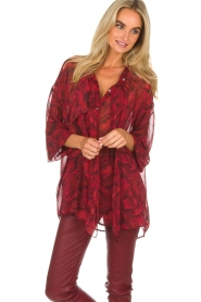 IRO |  Blouse Reason | red  | Picture 2