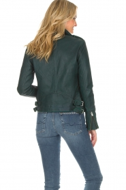 IRO |  Biker jacket Newhan | green  | Picture 6
