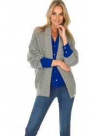 IRO |  Cardigan Beatnik | grey  | Picture 2