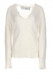 IRO |  Woolen sweater Belen | white  | Picture 1