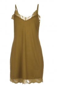 Hanro |  Slip dress Laila | green  | Picture 1