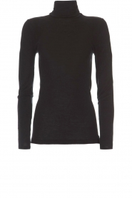 Hanro |  Silk/wool top Mia | black  | Picture 1