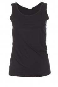 Hanro |  Soft tight top Christine | black  | Picture 1